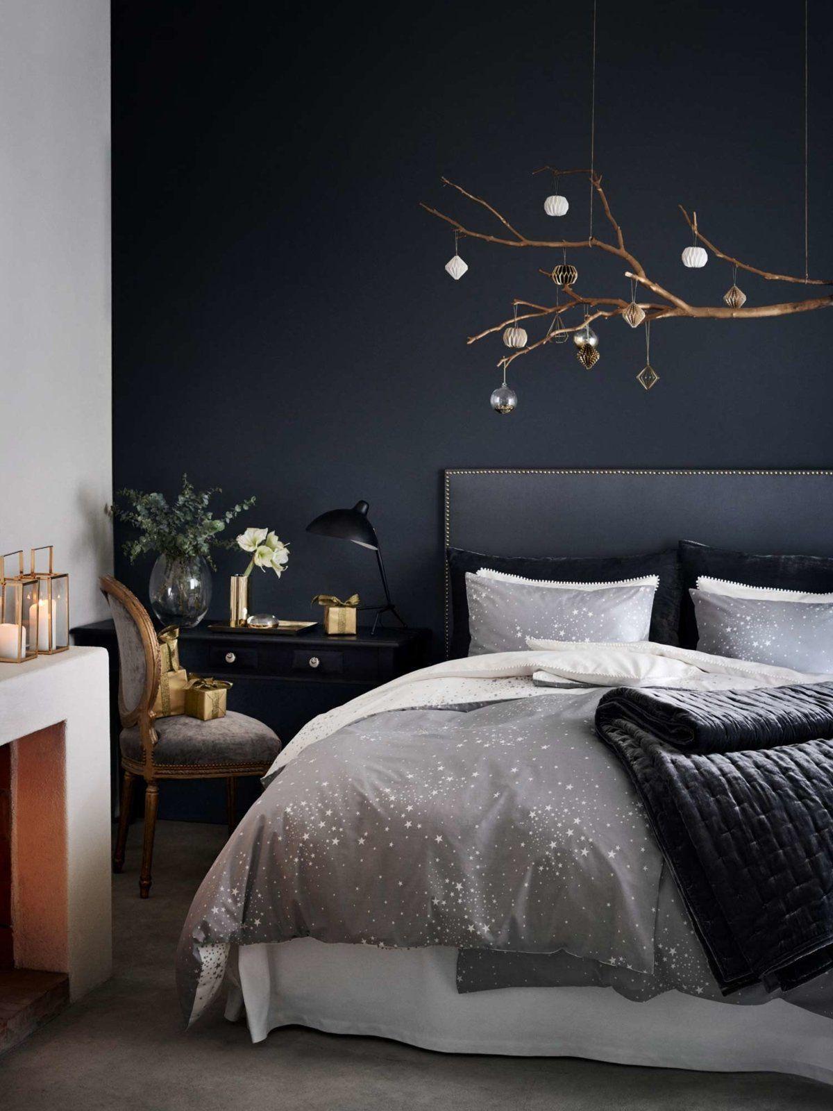 Schlafzimmer Schwarze Wände