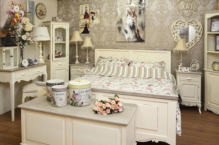 Schlafzimmer Shabby Chic Deko