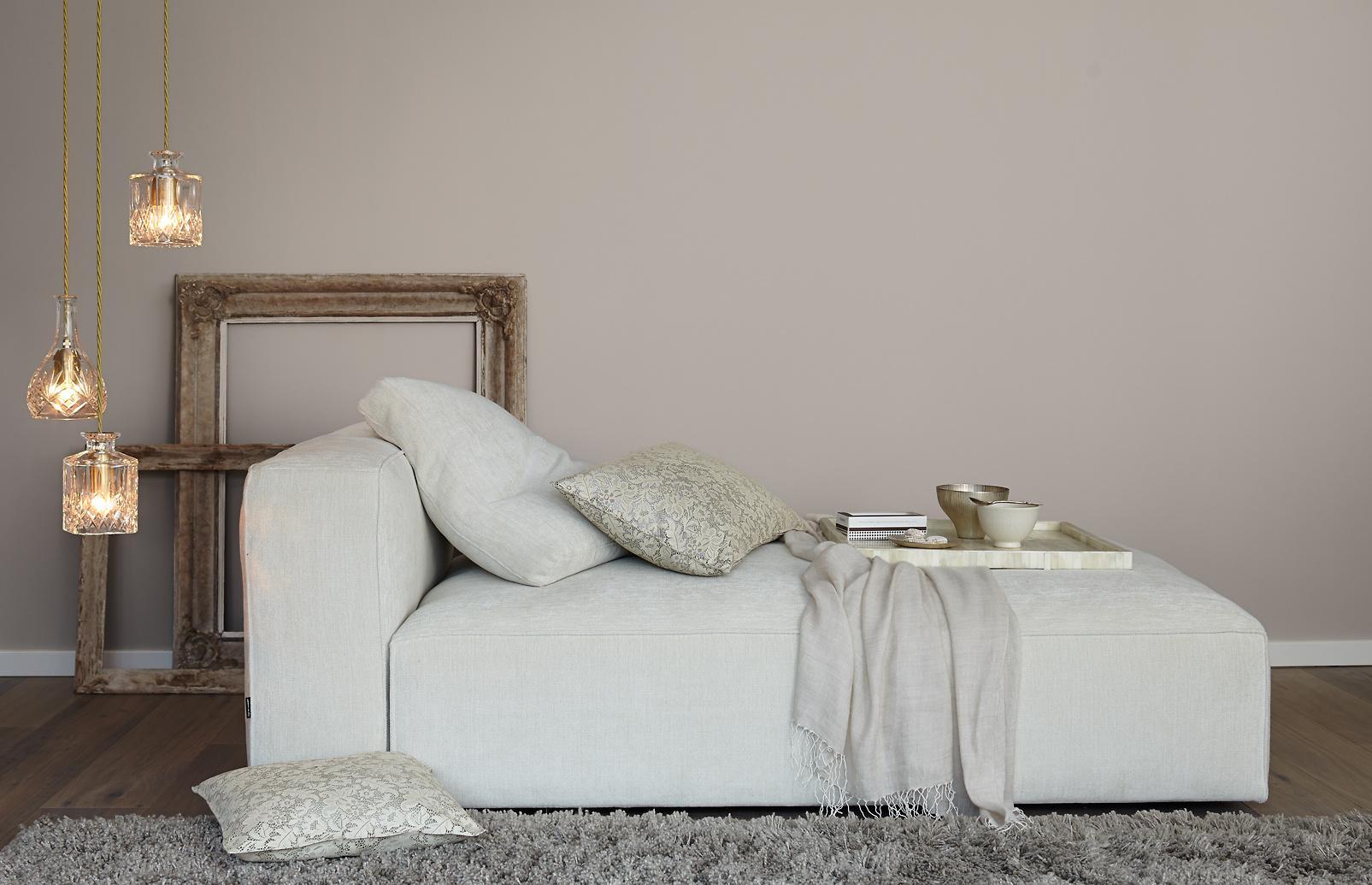 Schlafzimmer Wandfarbe Grau Braun