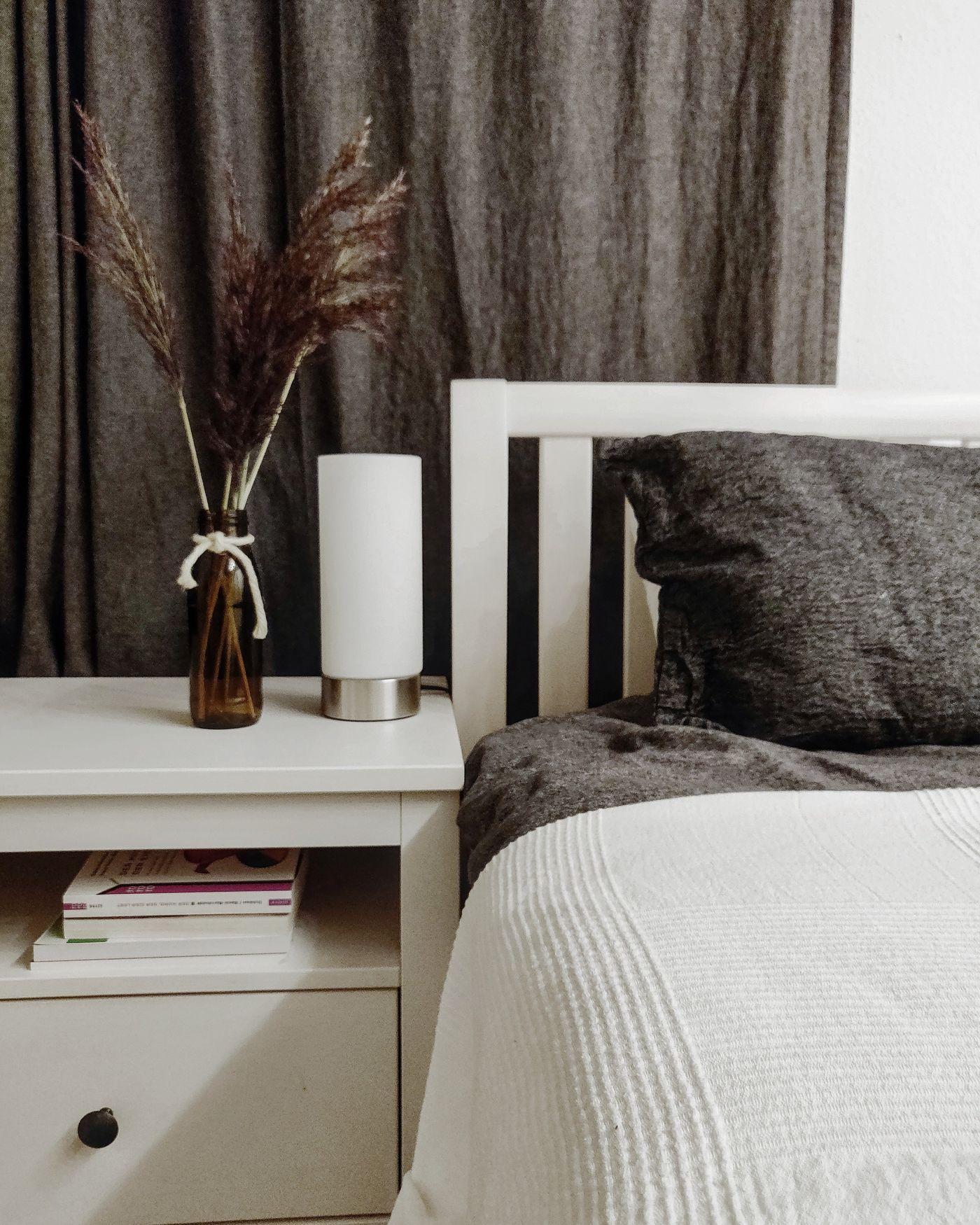 Schlafzimmer Weiß Grau Landhaus