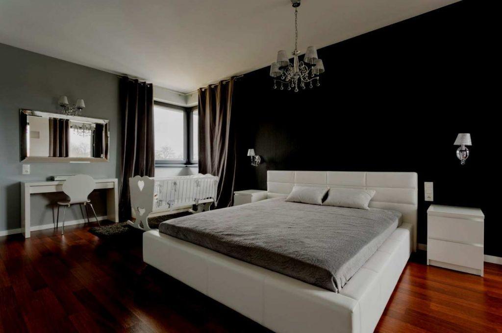 Schlafzimmer Weiß Grau Schwarz