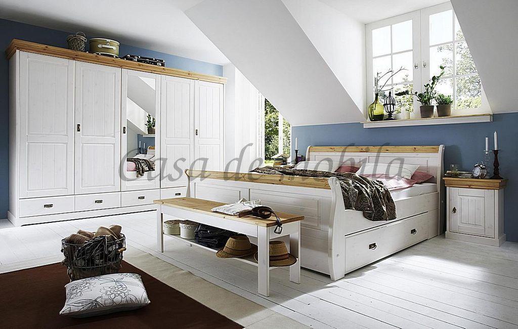 Schlafzimmer Weiß Komplett
