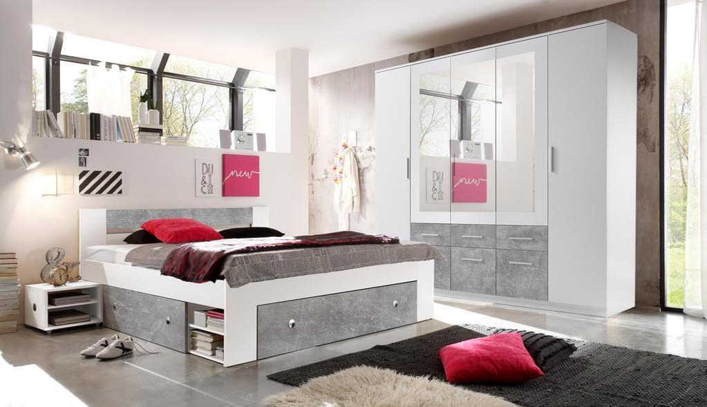 Schlafzimmermöbel Komplett Set