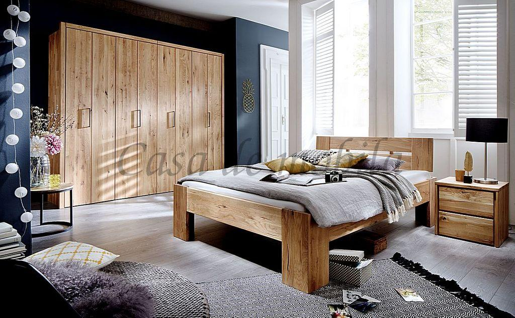 Schlafzimmerschrank Eiche Rustikal