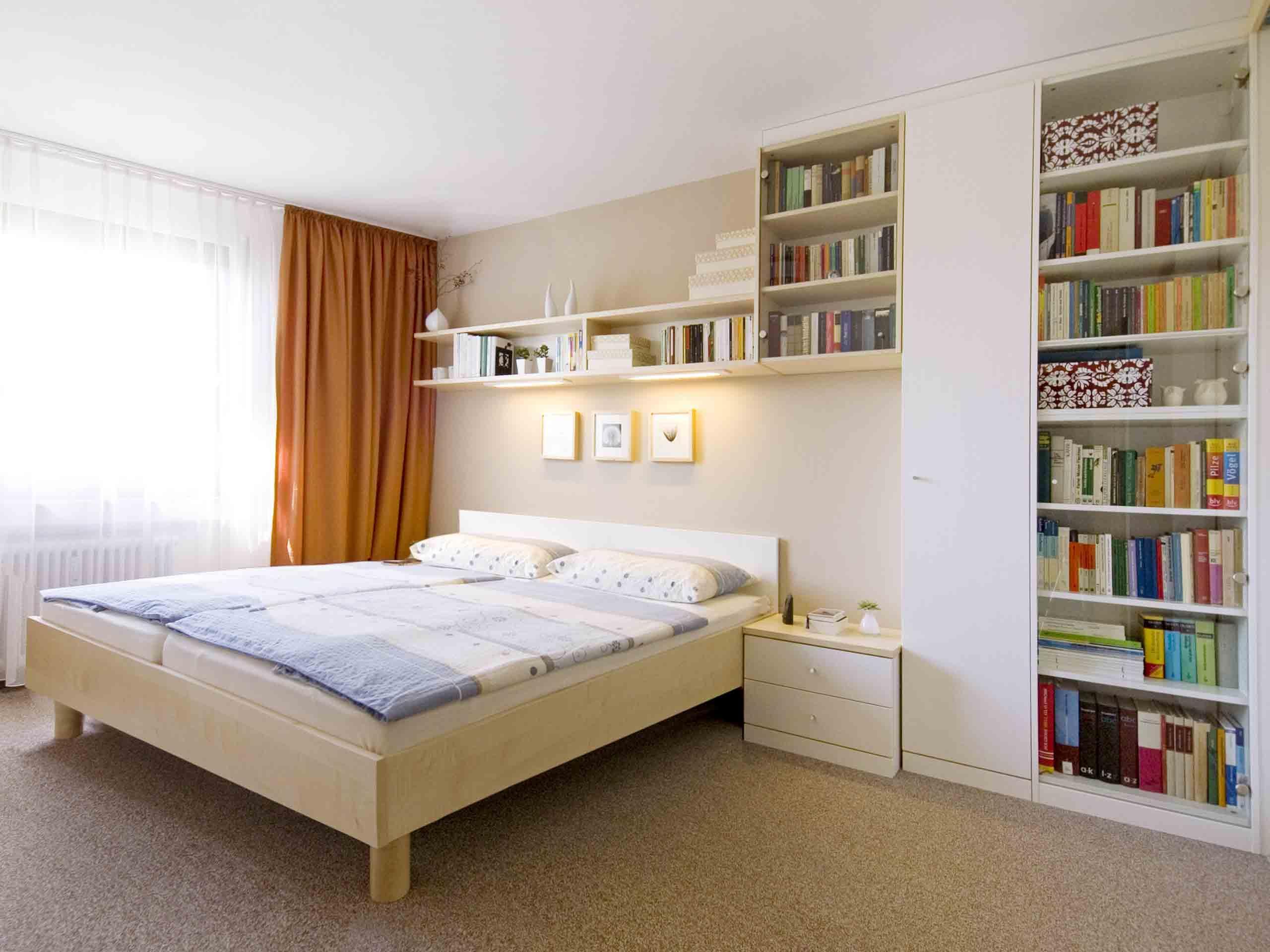 Schlafzimmerschrank Mit Bettüberbau