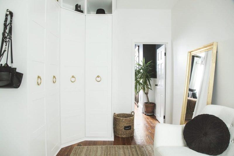 Schmaler Garderobenschrank Ikea