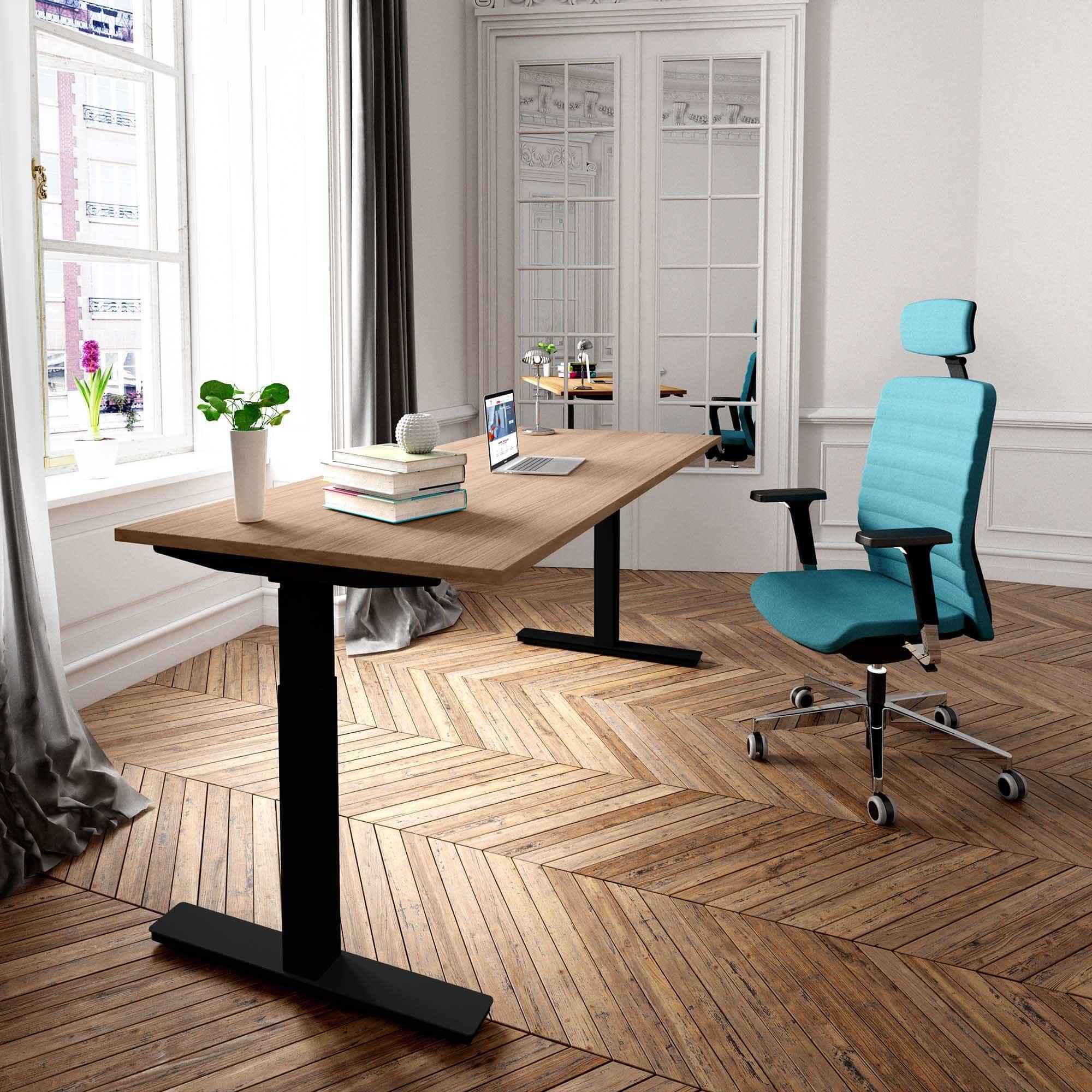 Schmaler Schreibtisch Höhenverstellbar