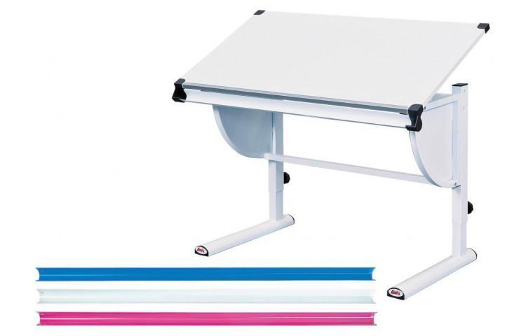 Schmaler Schreibtisch Mit Auszug