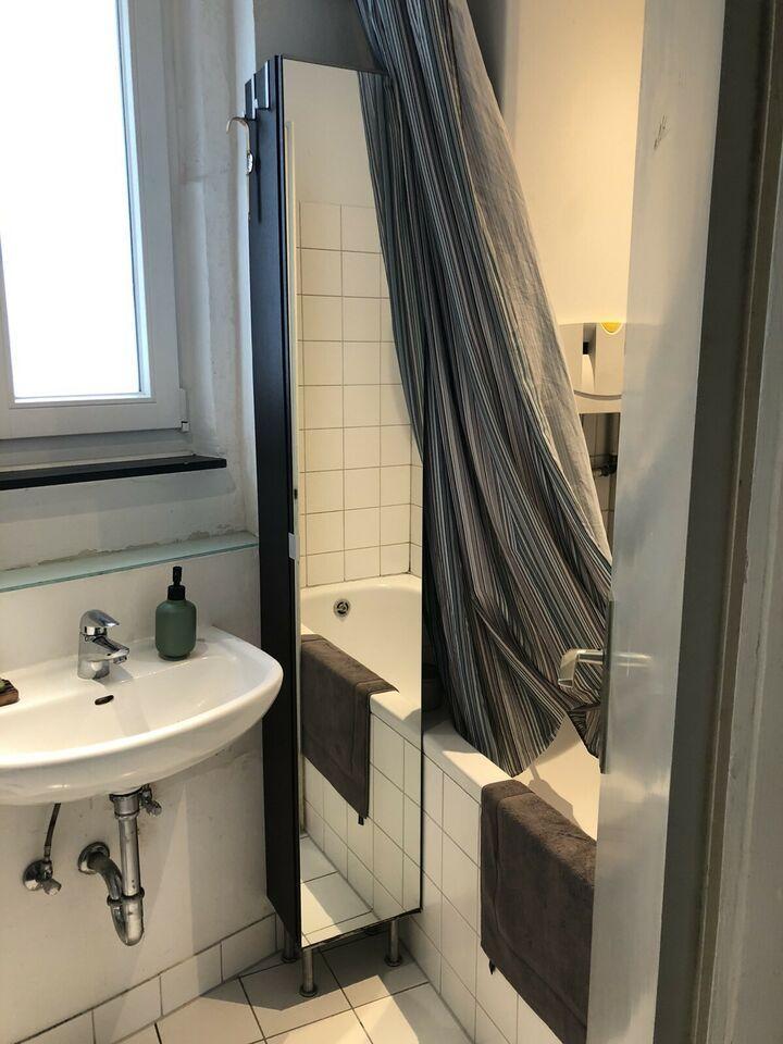 Schmaler Wandschrank Bad