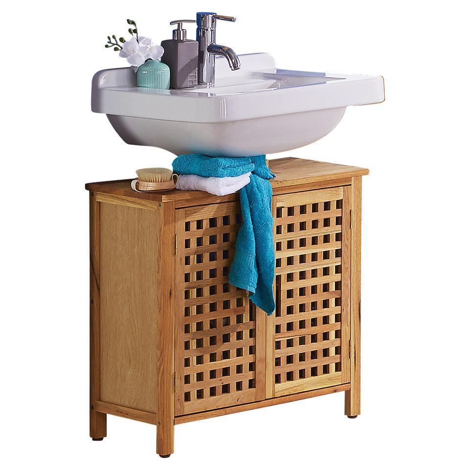 Schmaler Waschbeckenunterschrank Gäste Wc