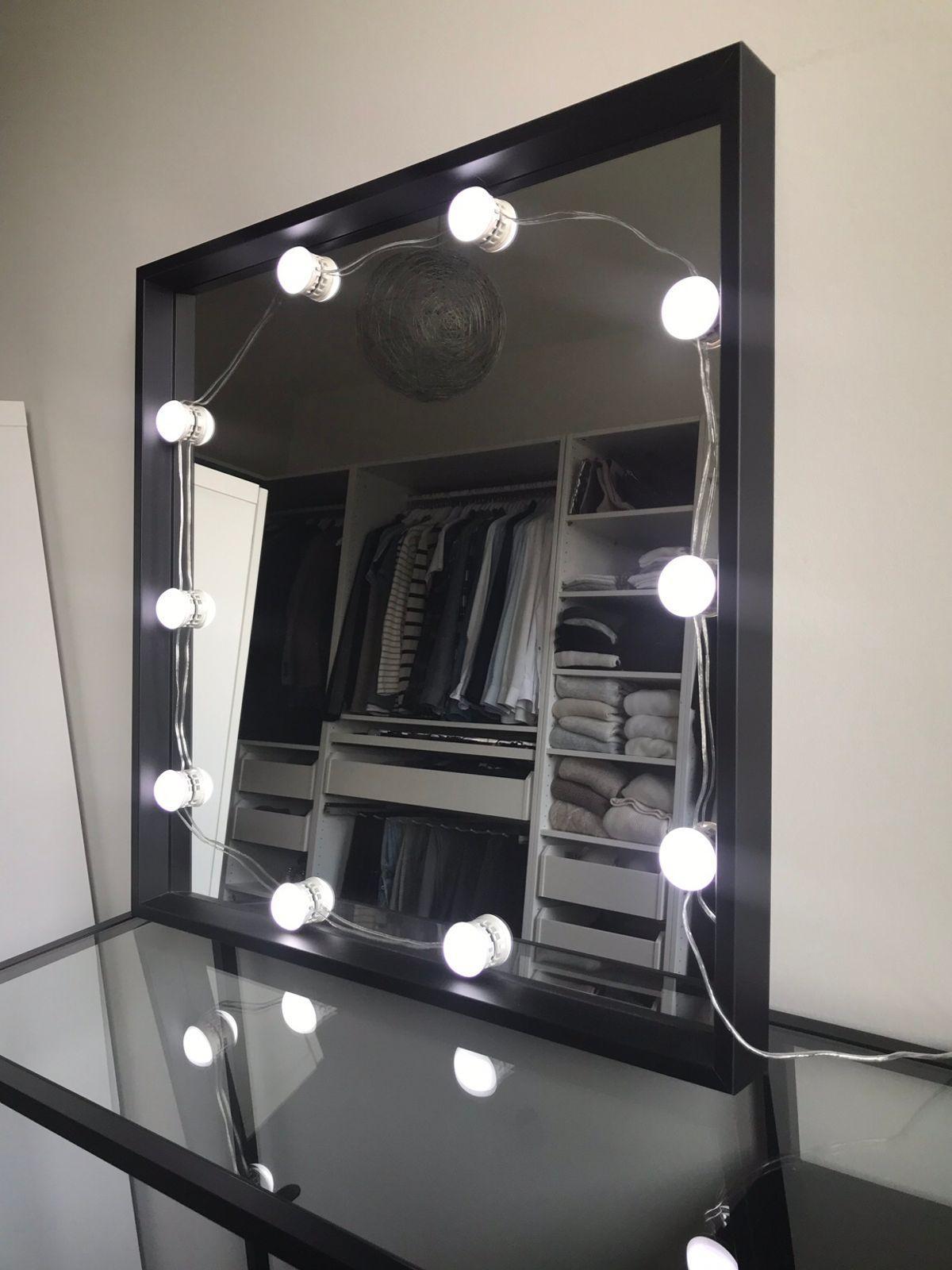 Schminktisch Spiegel Mit Lampen Ikea