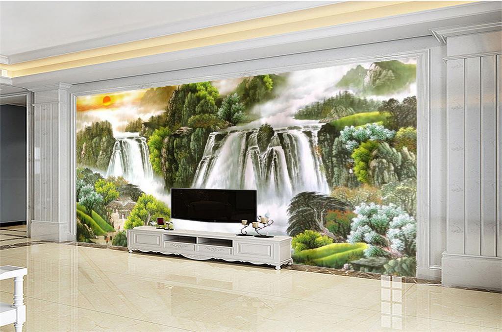 Schöne Tapeten Wohnzimmer