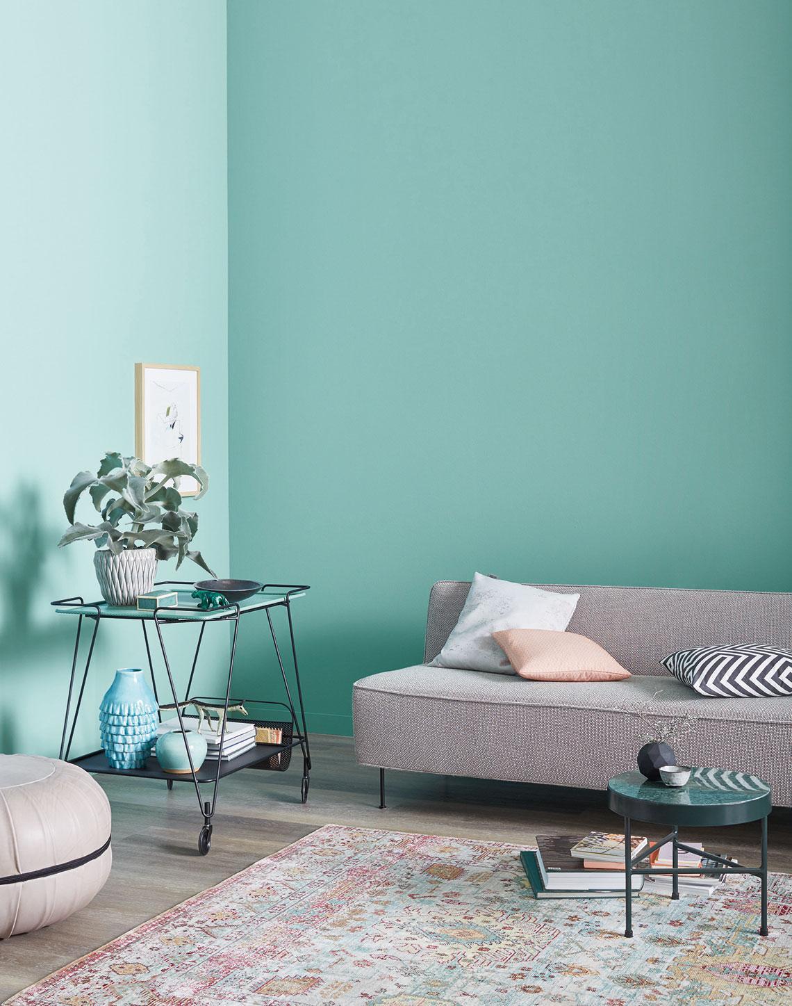 Schöner Wohnen Wohnzimmer Farbe
