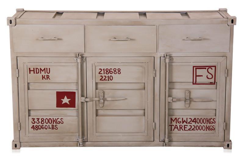 Schrank Container Optik