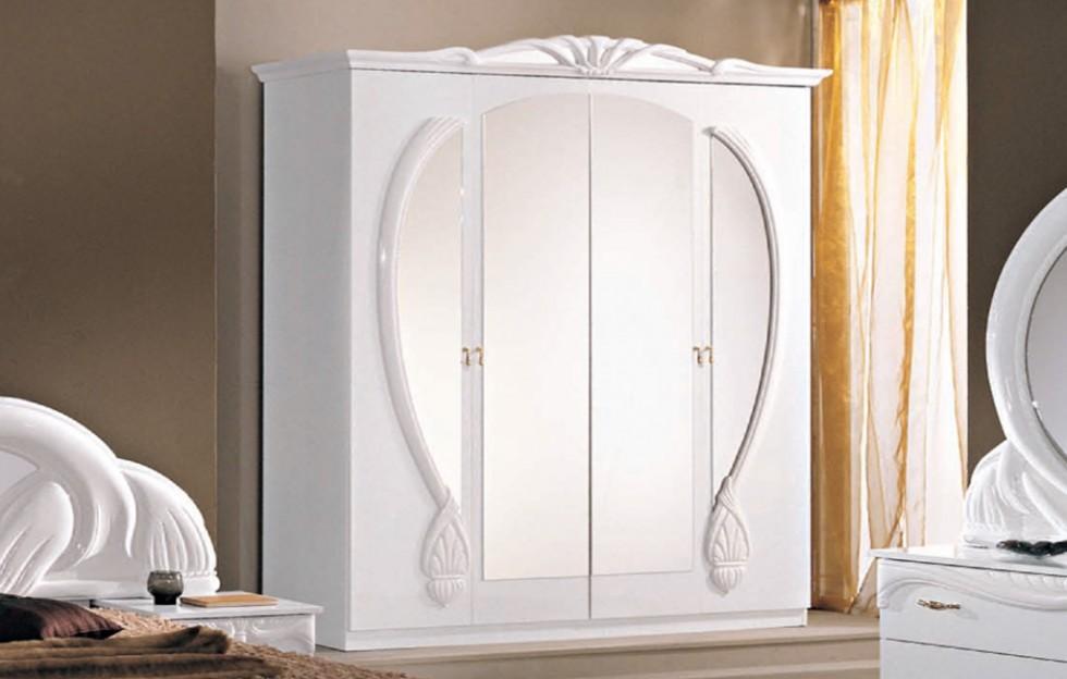 Schrank Schlafzimmer Weiß