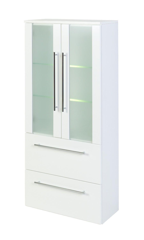 Schrank Weiß Hochglanz 60 Cm Breit