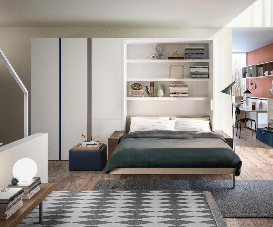 Schrankbett Mit Sofa 160×200