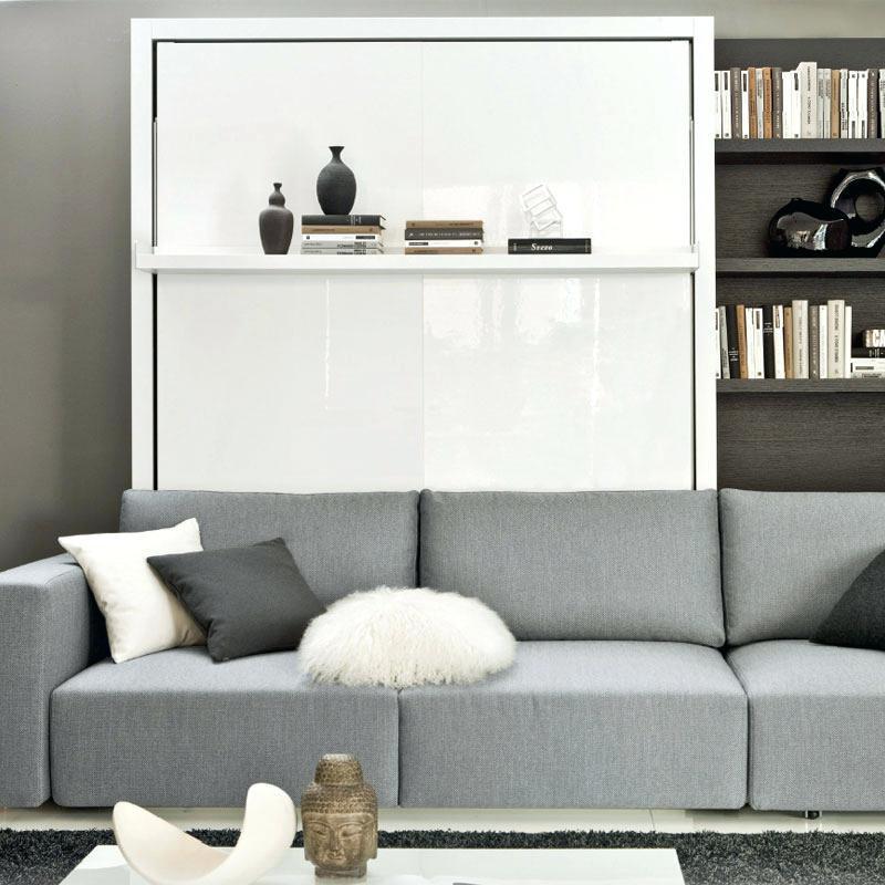 Schrankbett Wandbett Mit Sofa