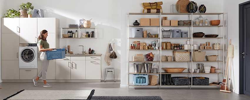 Schranksystem Hauswirtschaftsraum Möbel