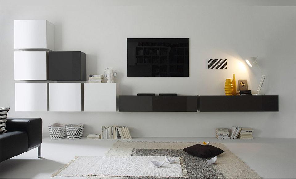 Schrankwand Wohnzimmer Modern