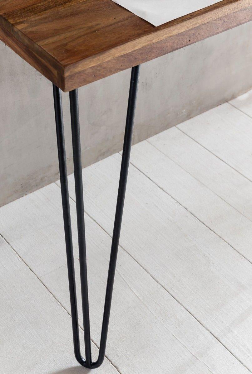 Schreibtisch Holz Dunkel