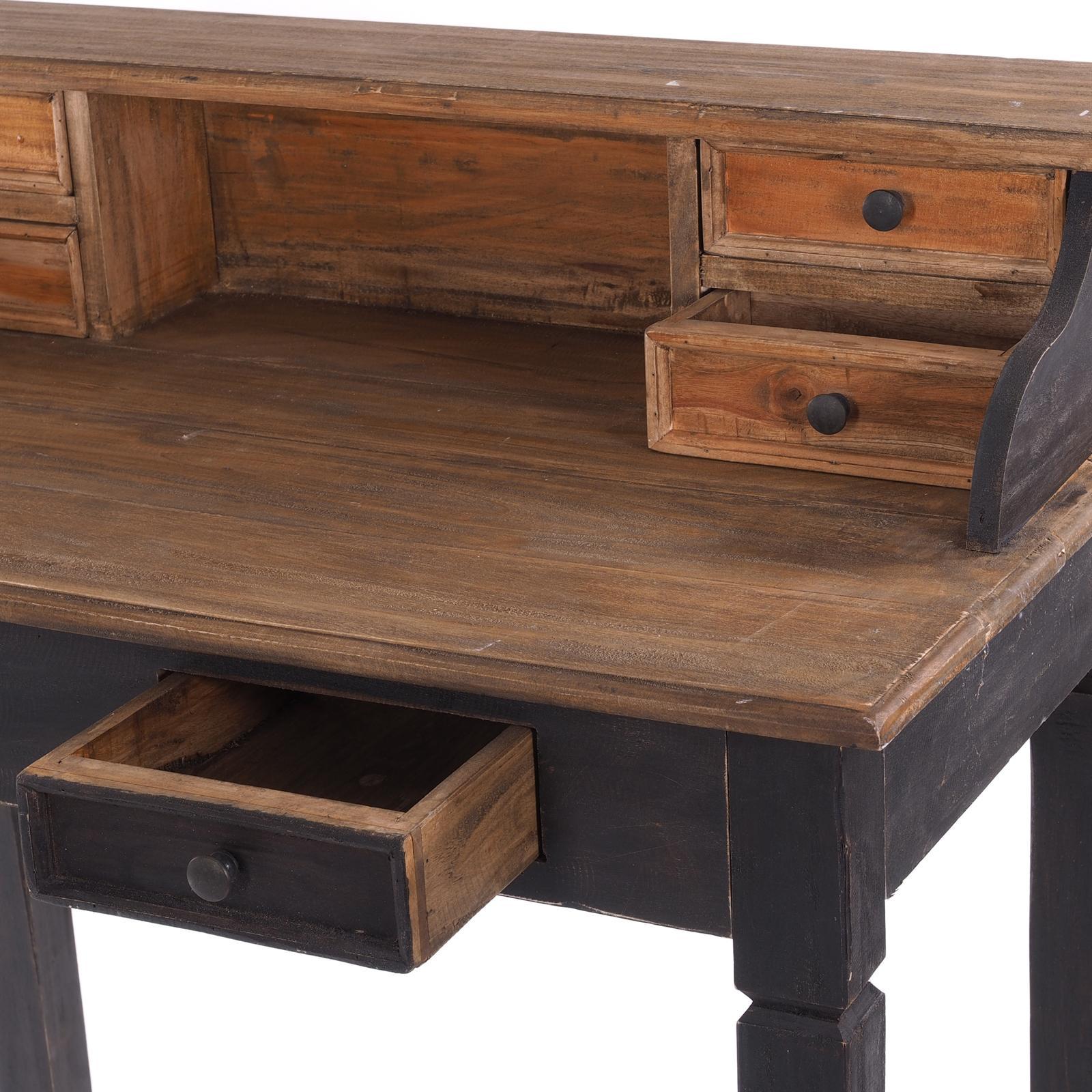 Schreibtisch Holz Vintage