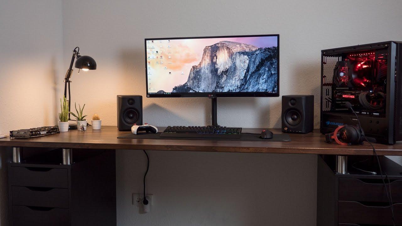 Schreibtisch Ikea Selbst Zusammenstellen