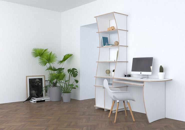 Schreibtisch Mit Regale