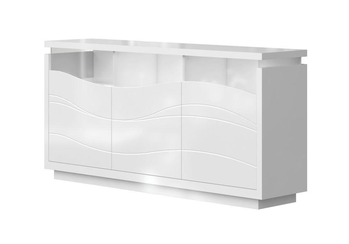 Schreibtisch Weiß Hochglanz 180 Cm