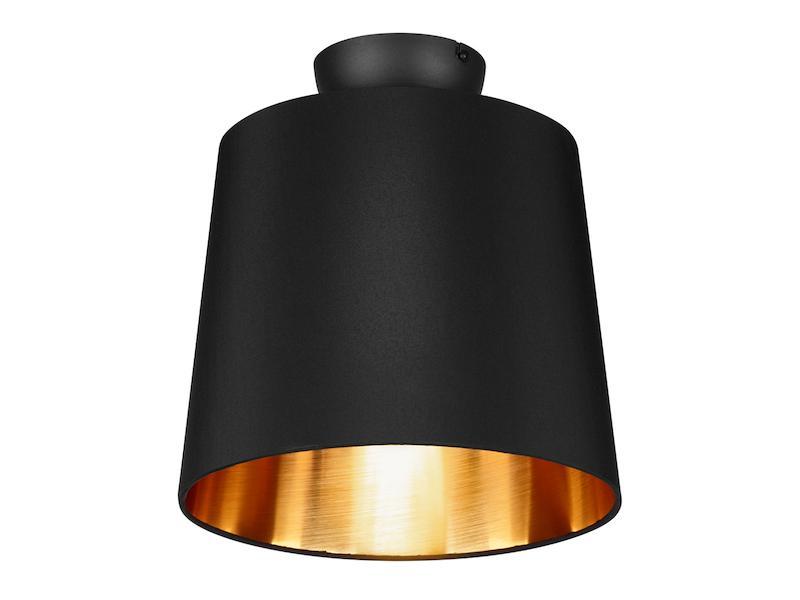 Schwarz Goldene Deckenlampe
