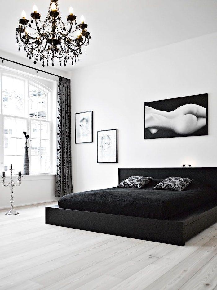 Schwarzer Kronleuchter Schlafzimmer