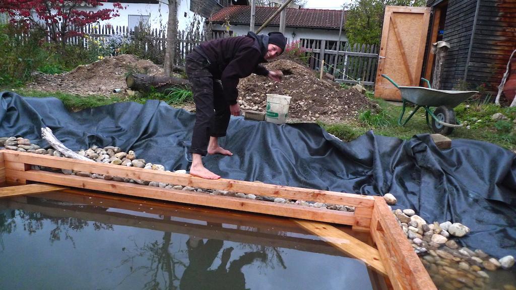 Selber Bauen Schwimmteich Bauen