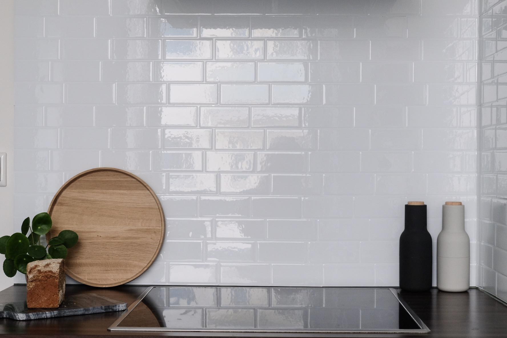 Selbstklebende Fliesen Küchenrückwand