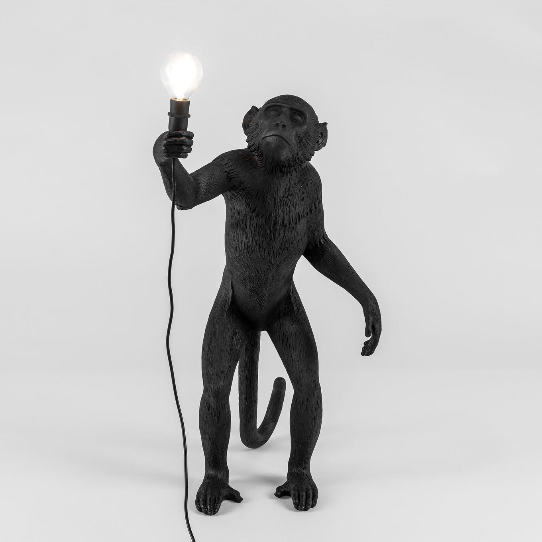 Seletti Monkey Lamp White
