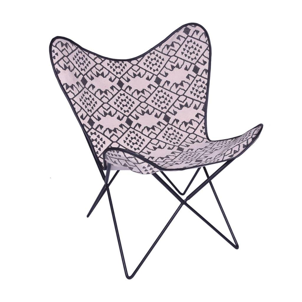 Sessel Weiß Stoff