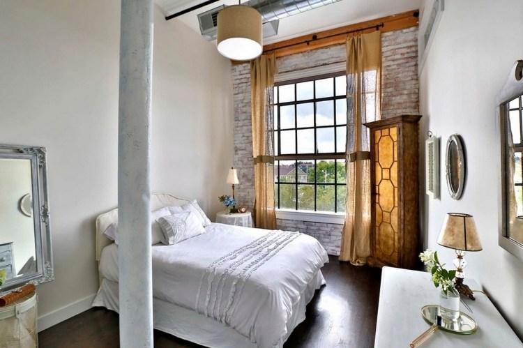 Shabby Chic Vintage Schlafzimmer