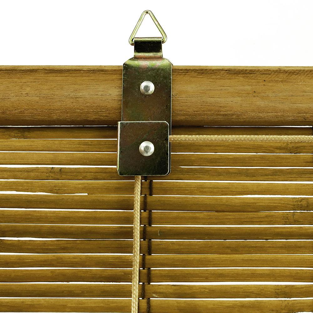 Sichtschutz Bambus Rollo