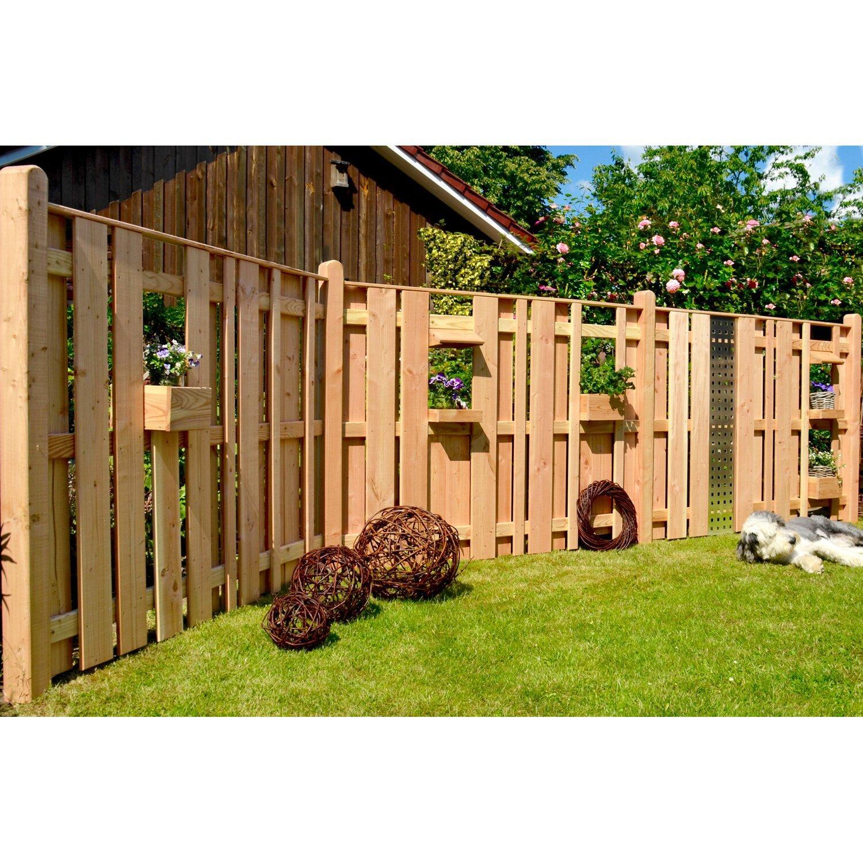 Sichtschutz Garten Holz 180×180