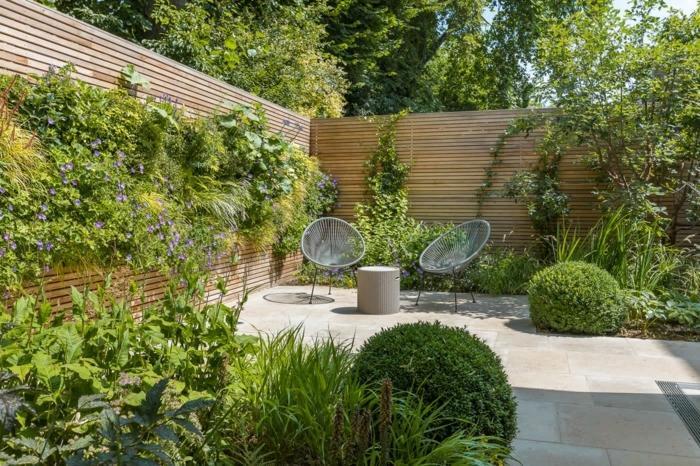 Sichtschutz Garten Ideen Selber Machen