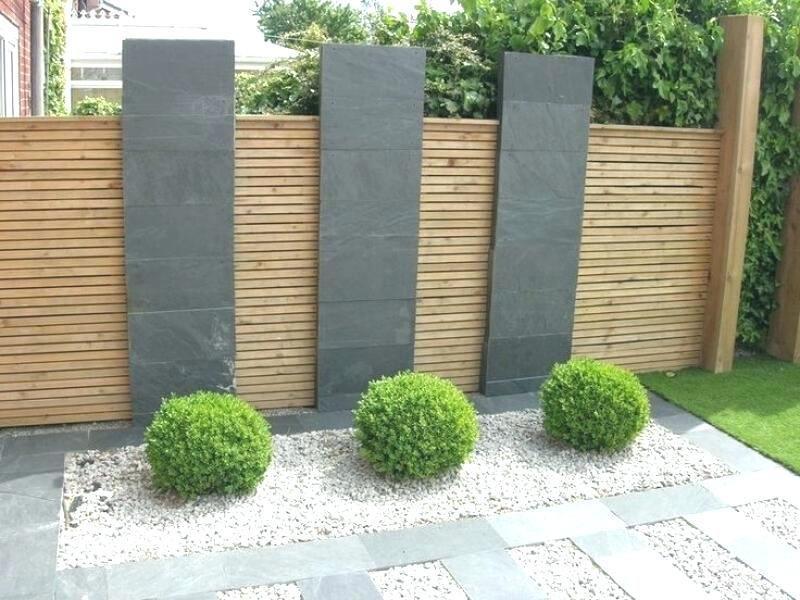 Sichtschutz Modern Garten