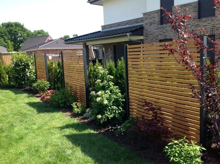 Sichtschutz Moderne Gartengestaltung