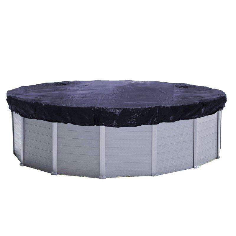 Sichtschutz Pool Rund