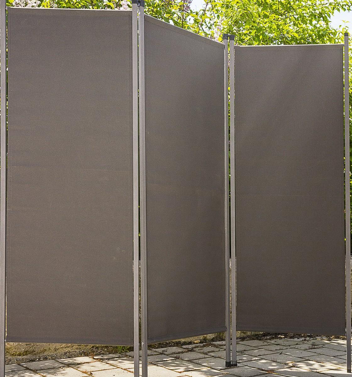 Sichtschutzzaun Anthrazit Metall
