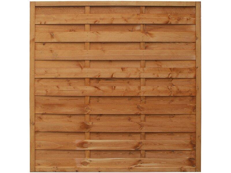 Sichtschutzzaun Holz 180×180 Obi