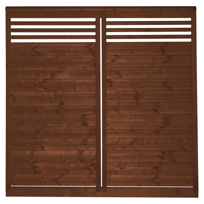 Sichtschutzzaun Holz 180×180 Toom