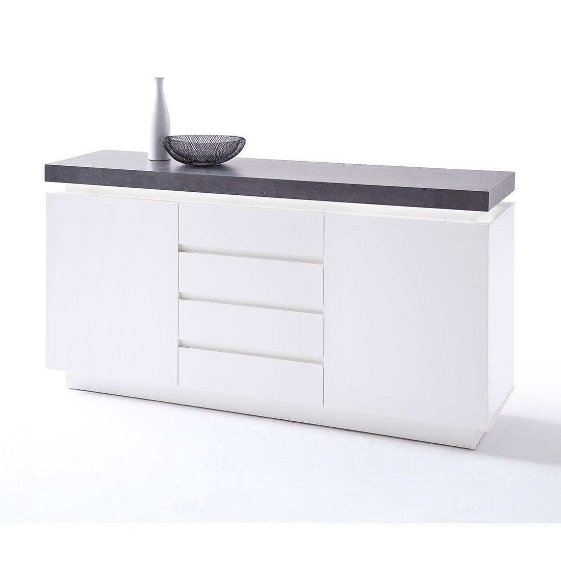 Sideboard Betonoptik 200 Cm