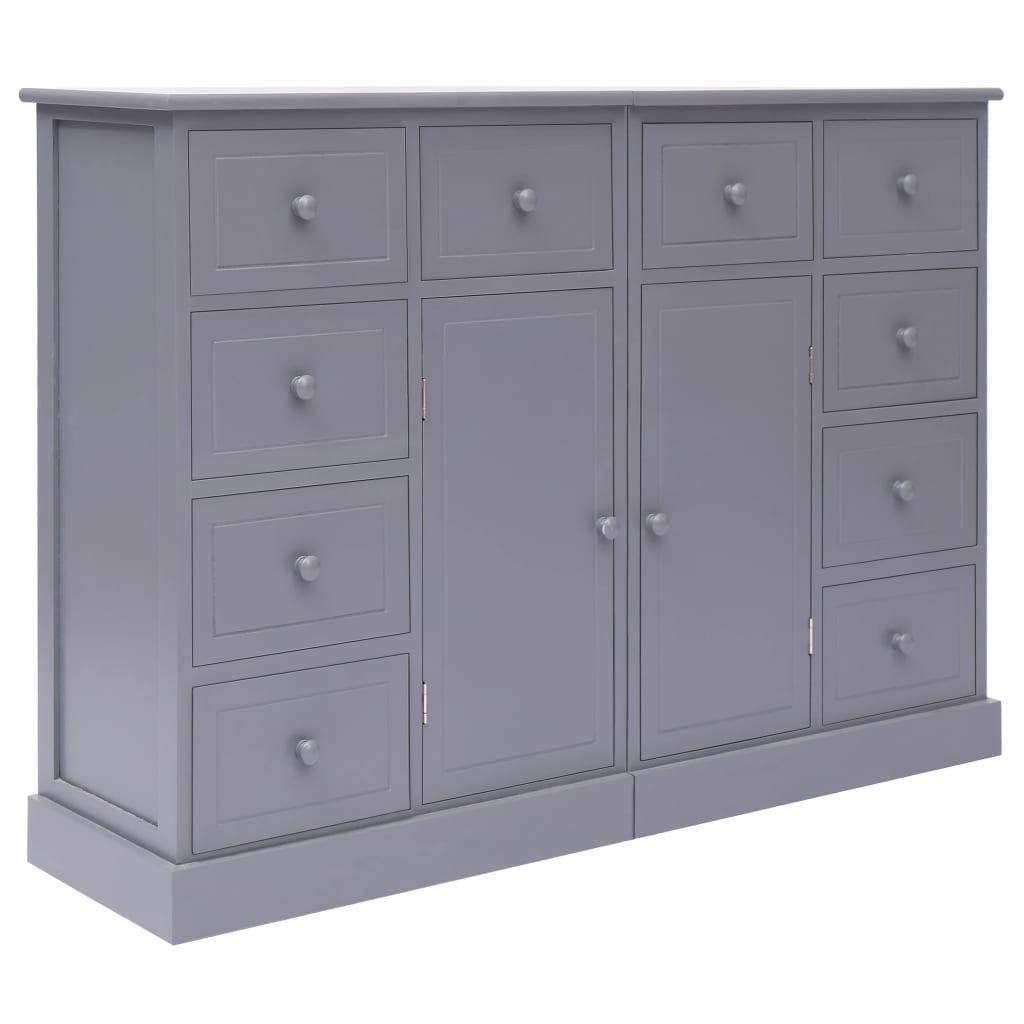 Sideboard Grau Holz