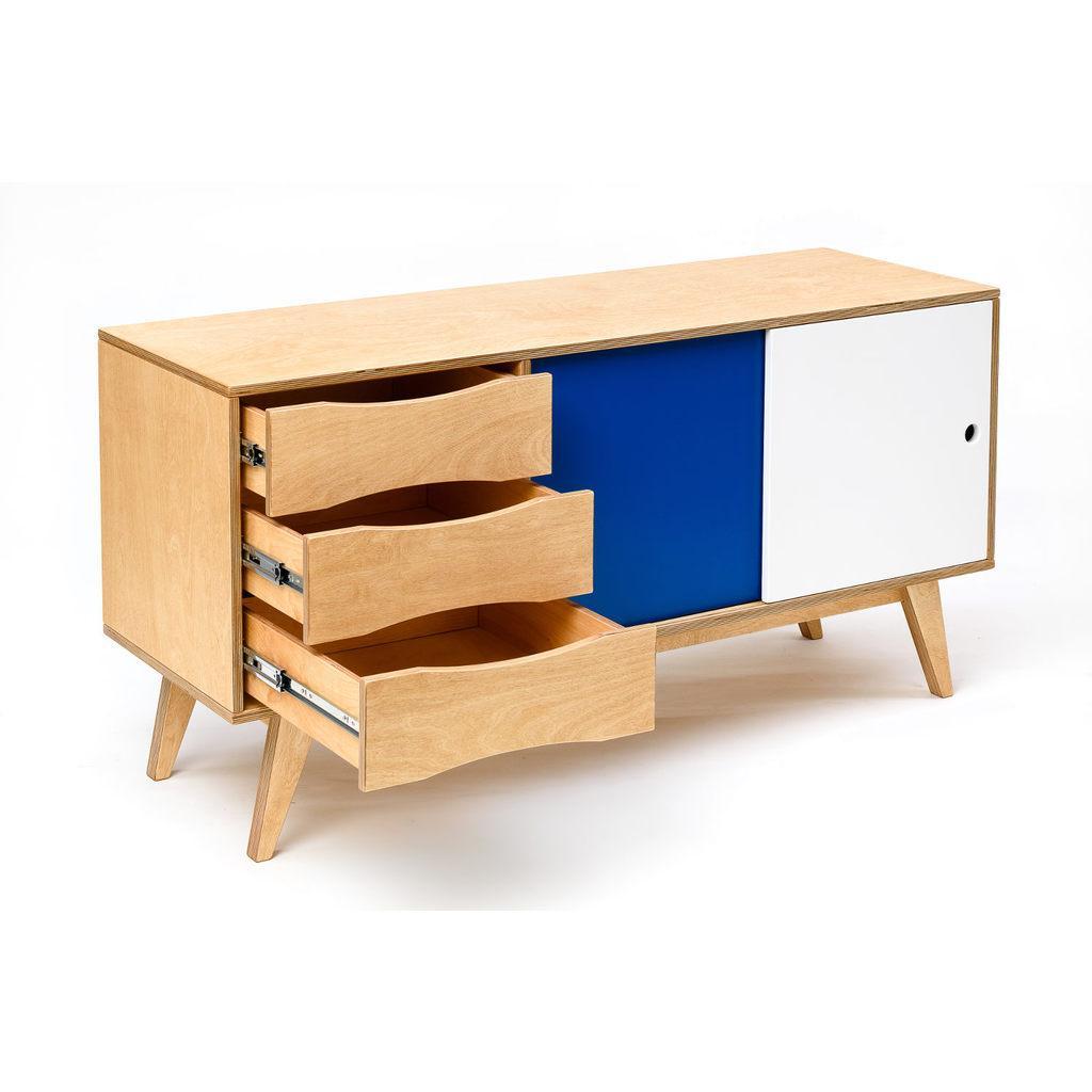 Sideboard Mit Schiebetüren Massivholz