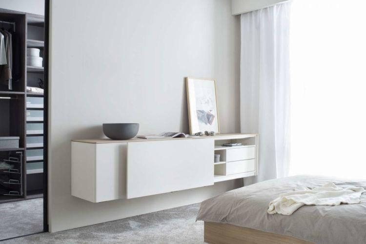 Sideboard Schlafzimmer Grau