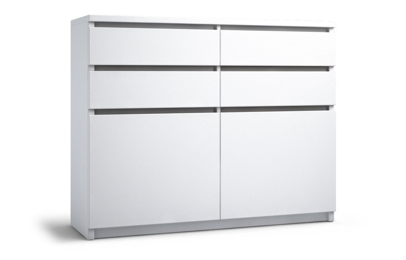 Sideboard Weiß Hochglanz 140 Cm Breit